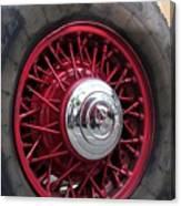 V8 Wheels Canvas Print