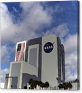 Vab At Kennedy Space Center Canvas Print