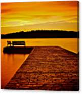 Vacant Sunset Canvas Print