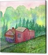 Vacation Home Canvas Print
