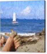 Vacation Canvas Print