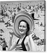 Vacation Montage, C.1930s Canvas Print