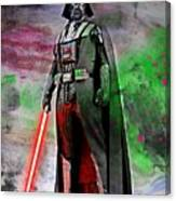 Vader Abstract Canvas Print