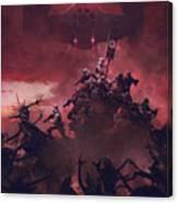 Vader Vs Aliens 2 Canvas Print