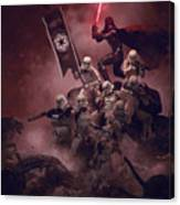 Vader Vs Aliens 3 Canvas Print