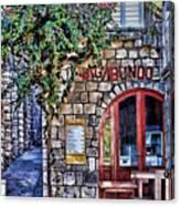 Vagabundo Corfu Canvas Print