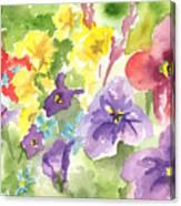 Vail Flowers Canvas Print