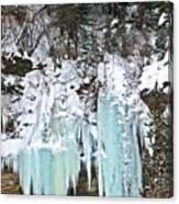 Vail Ice Falls Canvas Print