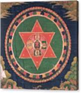 Vajravarahi Mandala Canvas Print