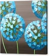 Valentine Alliums Canvas Print