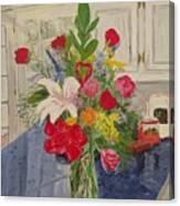 Valentine Bouquet Canvas Print