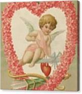 Valentine Design Four Canvas Print