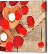 Valentine Mood Canvas Print