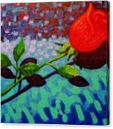 Valentine Rose Canvas Print