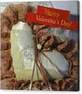 Valentines Card 1 Canvas Print