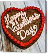 Valentines Cookie  Canvas Print