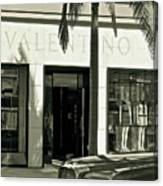 Valentino On Rodeo Drive Canvas Print