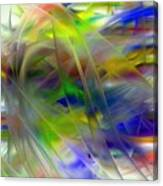 Veils Of Color 2 Canvas Print
