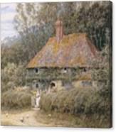 Valewood Farm Under Blackwood Surrey  Canvas Print
