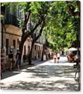 Valldemossa Street View Canvas Print