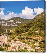 Valldemossa View From The Town Canvas Print