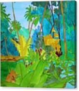 Vallee De Mai Canvas Print