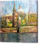 Valletta Icon Canvas Print