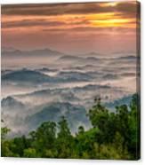 Valley Fog Canvas Print