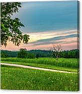Valley Forge Sunset Canvas Print
