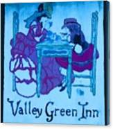 Valley Green Inn Canvas Print