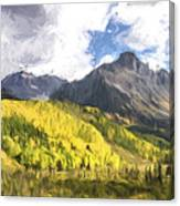 Valley Of Autumn II Canvas Print