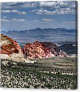 Valley Of Fire Iv Canvas Print