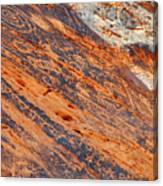 Valley Of Fire Petroglyphs Canvas Print