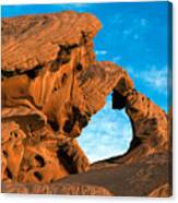 Valley Of Fire State Park Arch Rock Canvas Print