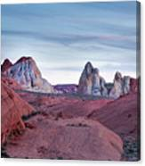Valley Of Fire Sunset Canvas Print