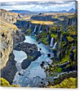 Valley Of Tears #2 - Iceland Canvas Print