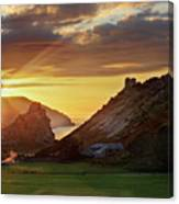 Valley Of The Rocks Canvas Print
