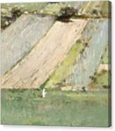 Valley Of The Seine, Giverny Canvas Print