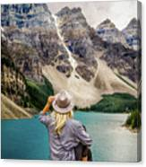 Valley Of The Ten Peaks Canvas Print