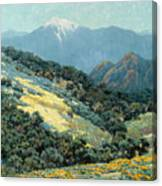 Valley Splendor Canvas Print