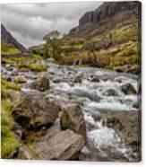 Valley Stream Canvas Print