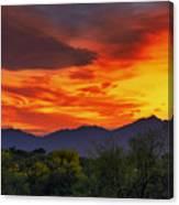 Valley Sunset H32 Canvas Print