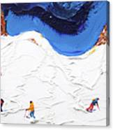 North Face Valluga Canvas Print