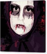 Vampire II Canvas Print