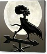 Vampire Moon Canvas Print