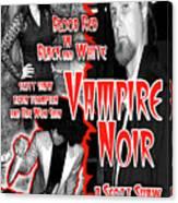 Vampire Noir Canvas Print