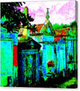 Vampire Tombs New Orleans Canvas Print