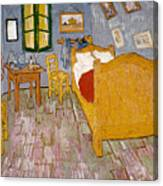 Van Gogh: Bedroom, 1888 Canvas Print