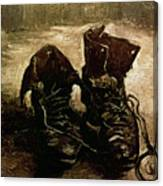 Van Gogh Boots 1886 Canvas Print