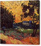 Van Gogh: Castle, 1890 Canvas Print
